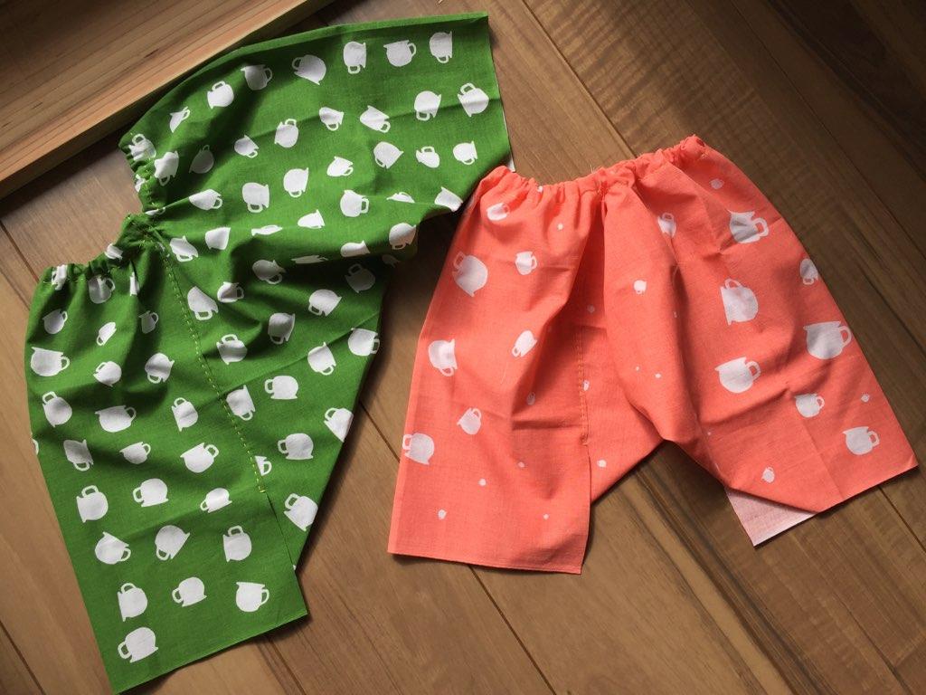 6/26(火)お母さんのための手縫いワークショップ ~手ぬぐいズボンを作ろう!~
